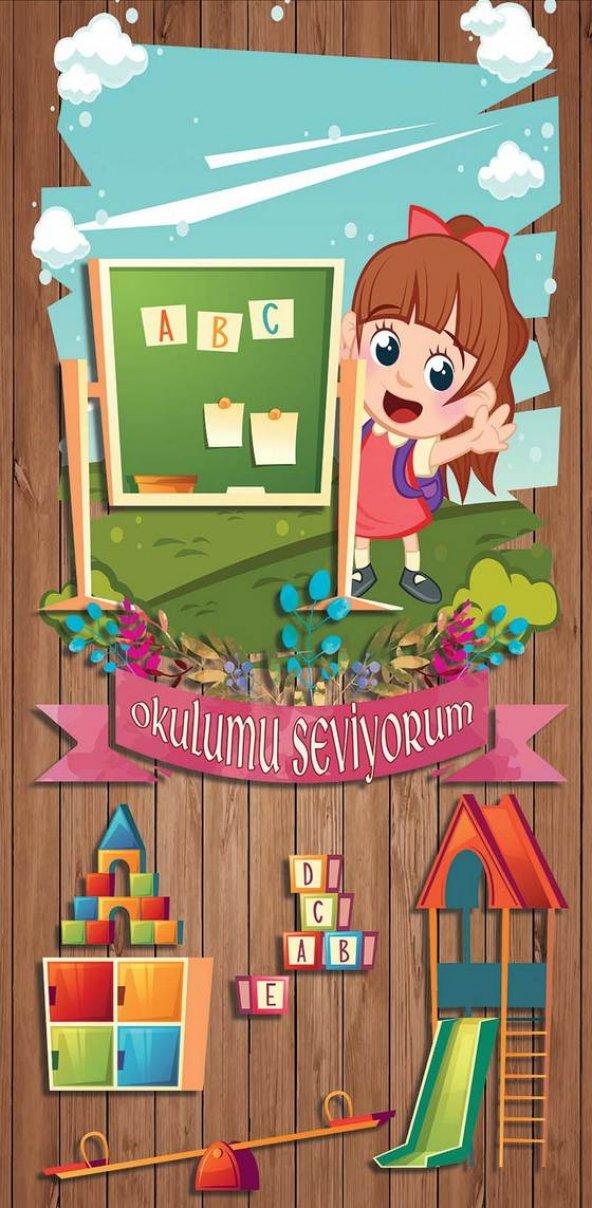 Anaokulu Kapı Giydirme-2