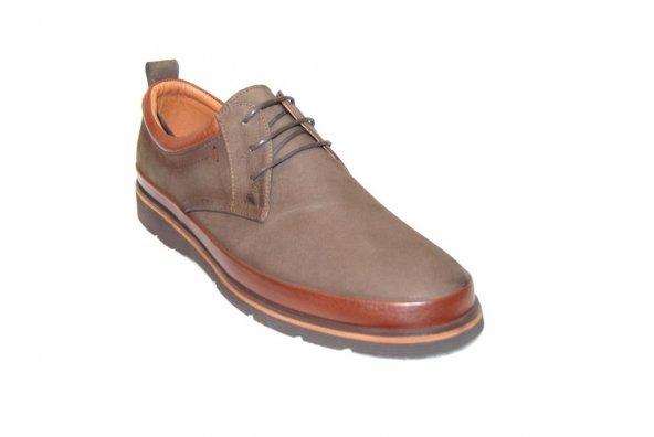 Marcomen büyük numara 3351 eva [hafif taban kahve casual ayakkabı