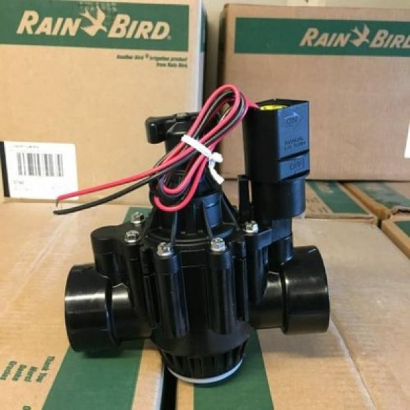 "Rainbird 150-PGA Selenoid Vana 9V, Pilli Sistem için 11/2"""