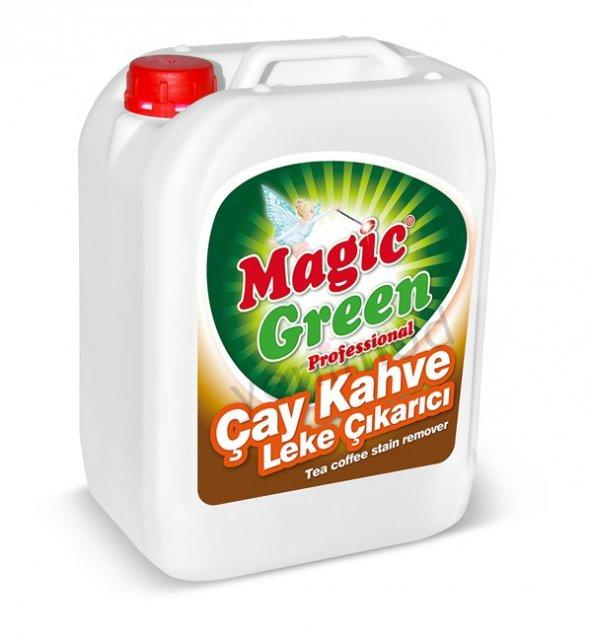 Magic Green Çay Kahve Leke Çıkarıcı 5 lt