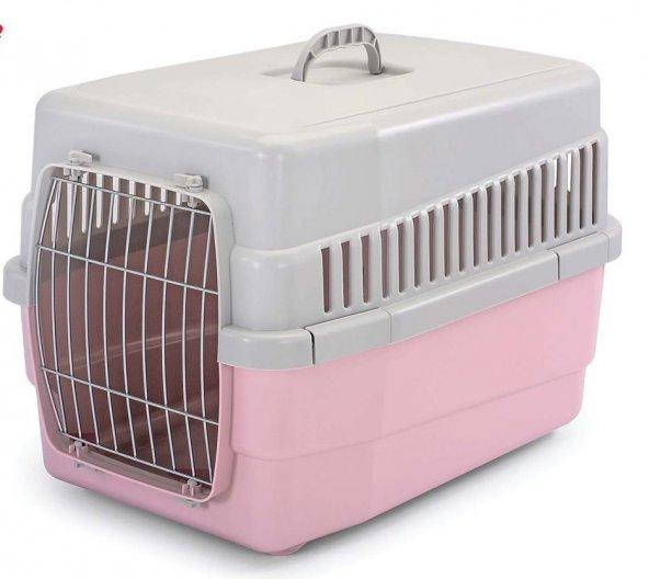 Imac Carry 60 Köpek Taşıma Kafesi - Pembe