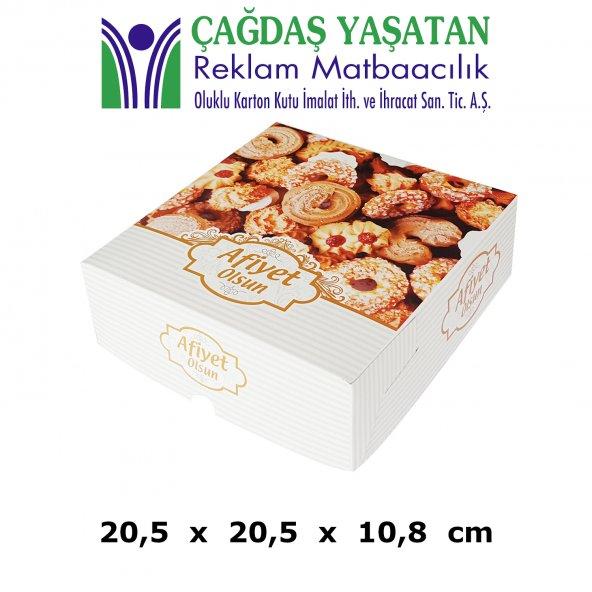 1500 gram Kuru Pasta Kutusu ( 100 Adet ) - 002