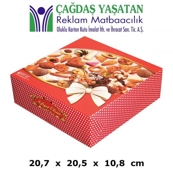 1500 gram Kuru Pasta Kutusu ( 100 Adet ) - 009
