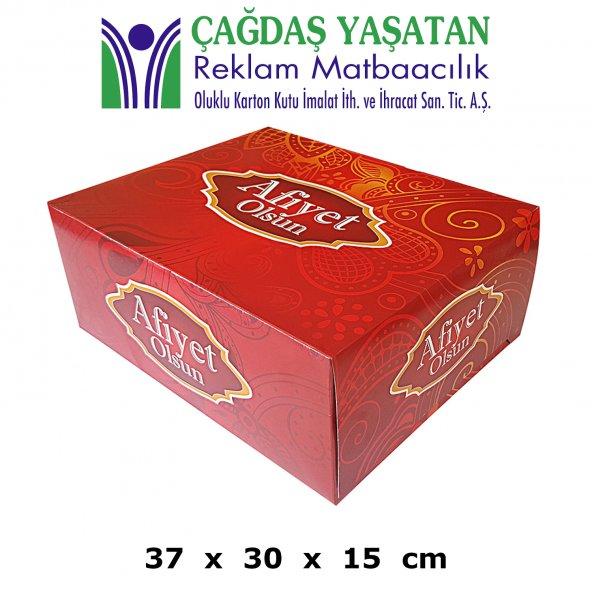 XXL Yaş Pasta - Kuru Pasta - Turta Kutusu ( 30 Adet ) - 039