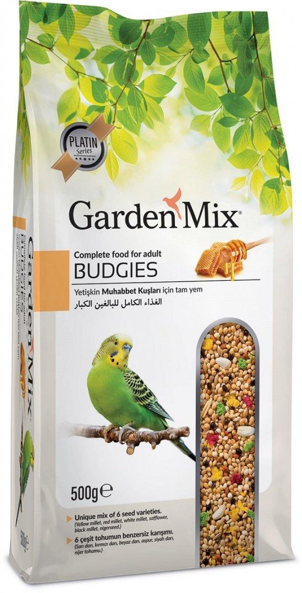 Garden Mix Super Premium Ballı Muhabbet Kuşu Yemi 500 gr ( 10 Ade