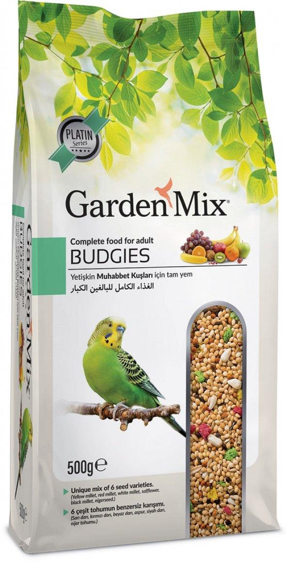 Gardenmix Platin Seri Vitaminli Meyveli Muhabbet Kuşu Yemi 500 g