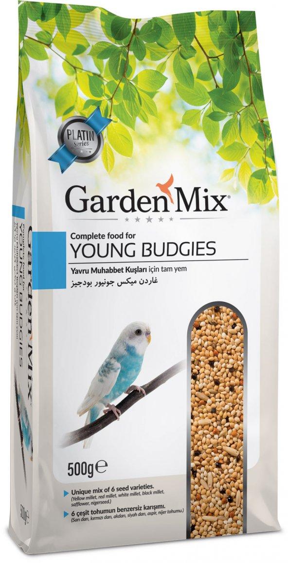 Garden Mix Platin Yavru Muhabbet Kuş Yemi 500 gr ( 5 Adet )