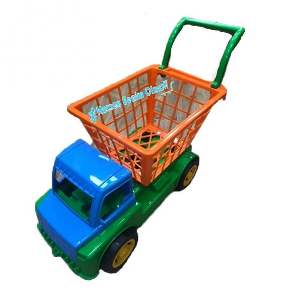 Oyuncak Market Pazar Arabası Kamyon Kargo Ücretsiz