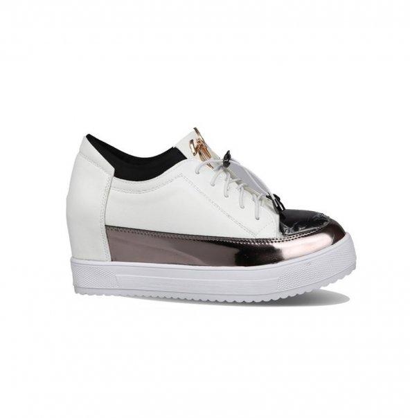 GUJA 18Y4012-25 Beyaz Kadın Günlük Ayakkabı