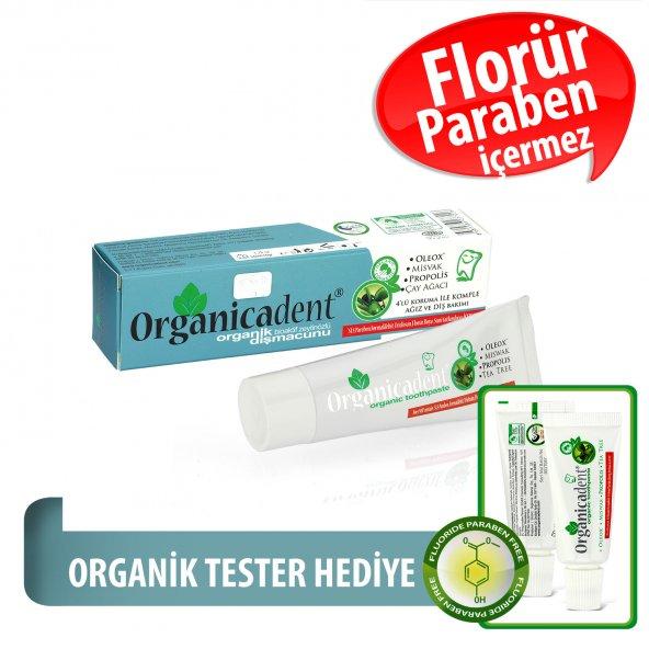 Organicadent Florürsüz Organik Diş Macunu 50 ml T