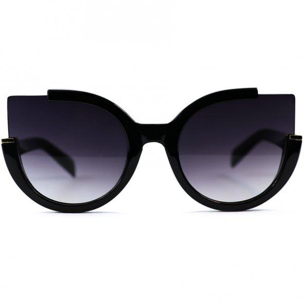 Oto Model Siyah Degrade Camlı FashionMoon Güneş Gözlüğü