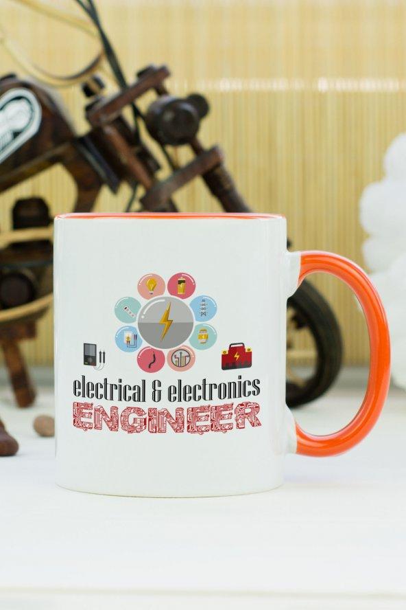 Electrical And Electronics Engineer Kupa Bardak Turuncu