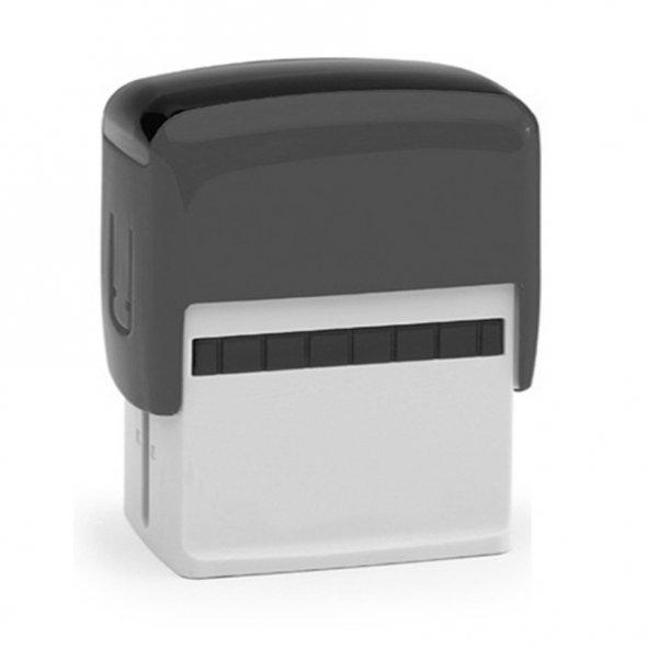 Bigpoint Otomatik Kaşe 60x23mm Siyah