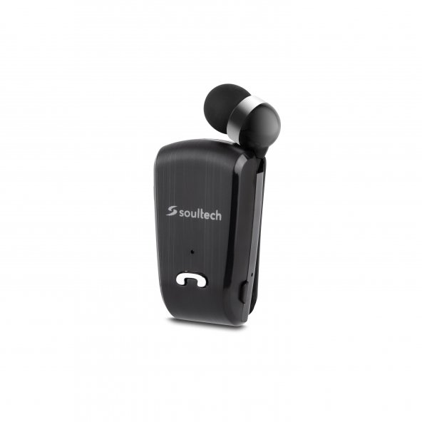 Soultech Color Clıp Comfort Bluetooth Kulaklık Siyah - BH012S