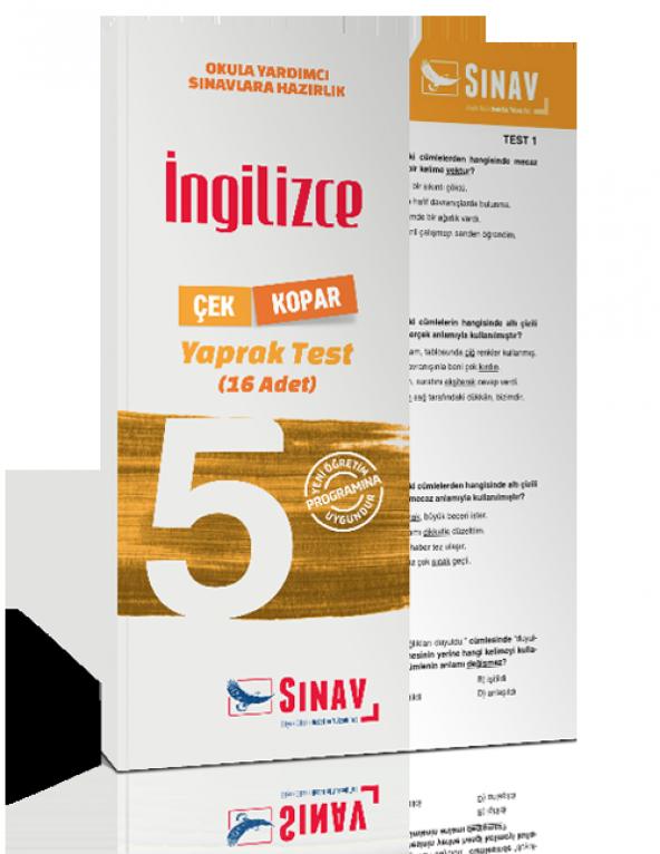 Sınav Yayınları 7. Sınıf Din Kültürü ve Ahlak Bilgisi Yaprak Test