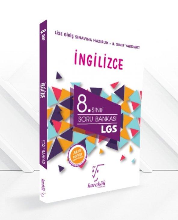 Karekök Yayınları 8. Sınıf LGS İngilizce Soru Bankası