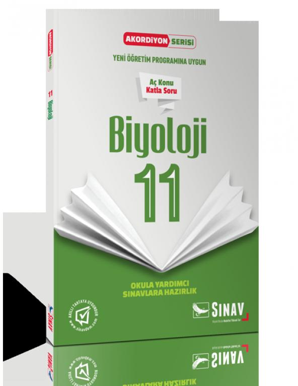 Sınav Yayınları 11. Sınıf Coğrafya Akordiyon Kitap