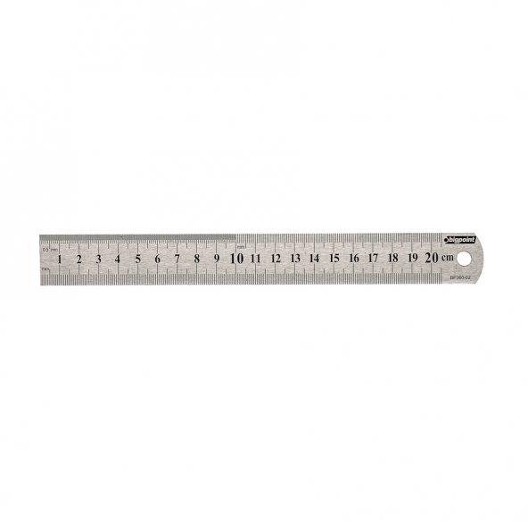 Bigpoint Çelik Cetvel 20 cm