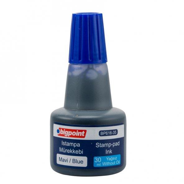 Bigpoint Istampa Mürekkebi 30 ml Mavi