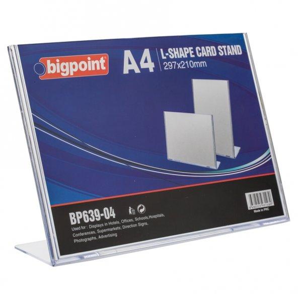 Bigpoint Kart Standı Yatay A4