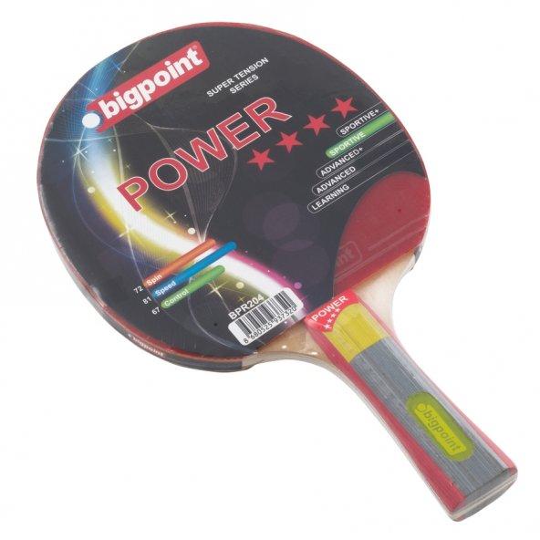 Bigpoint Masa Tenisi Raketi - 4* (Power)