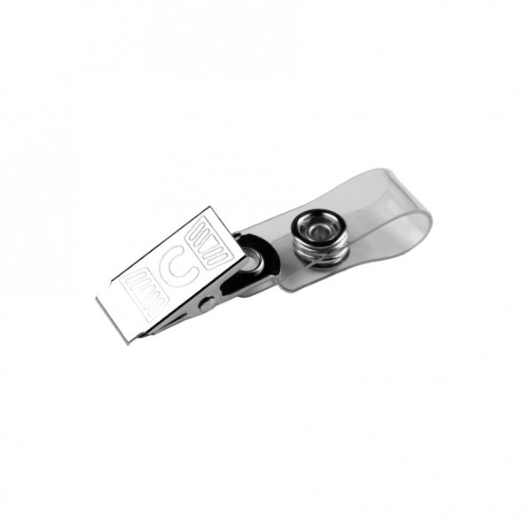 Bigpoint Metal Klips Şeffaf Askılı