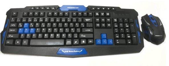 HK8100 Oyuncu Klavyesi Gaming Keyboard