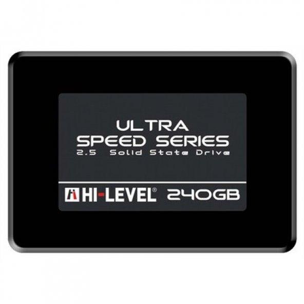 "Hi-Level 240 GB Ultra HLV-SSD30ULT/240G 2.5"" SATA 3.0 SSD"