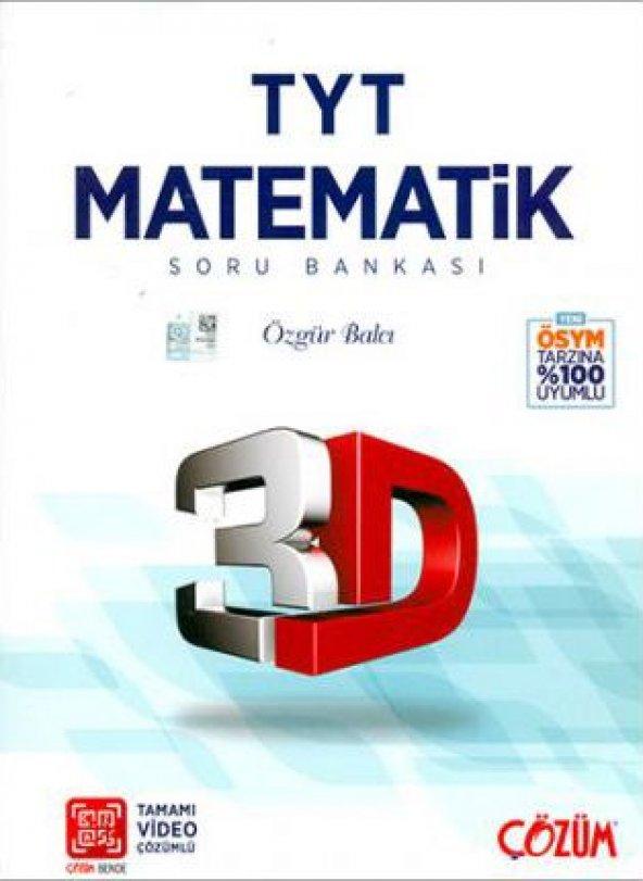 Çözüm Yayınları TYT Matematik 3D Soru Bankası