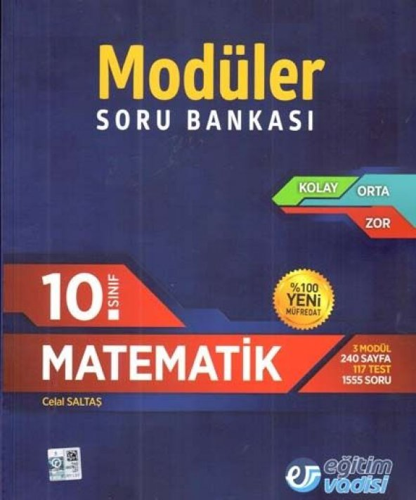 Eğitim Vadisi 10. Sınıf Matematik Modüler Soru Bankası