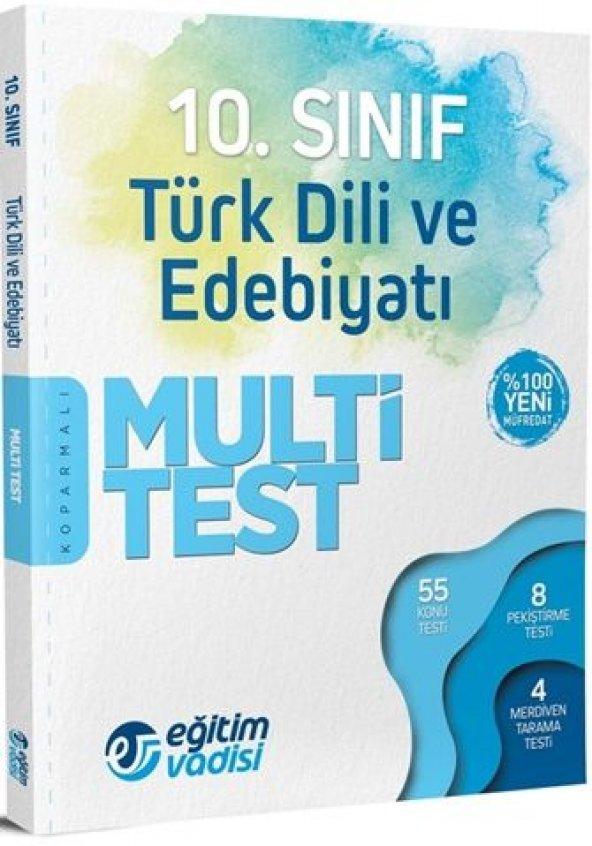 Eğitim Vadisi 10. Sınıf Türk Dili ve Edebiyatı Multi Test