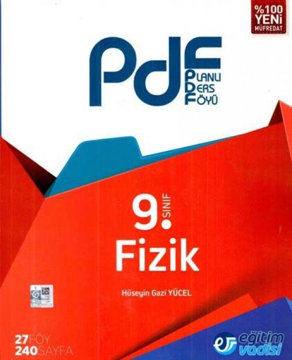 Eğitim Vadisi 9. Sınıf Fizik PDF Planlı Ders Föyü