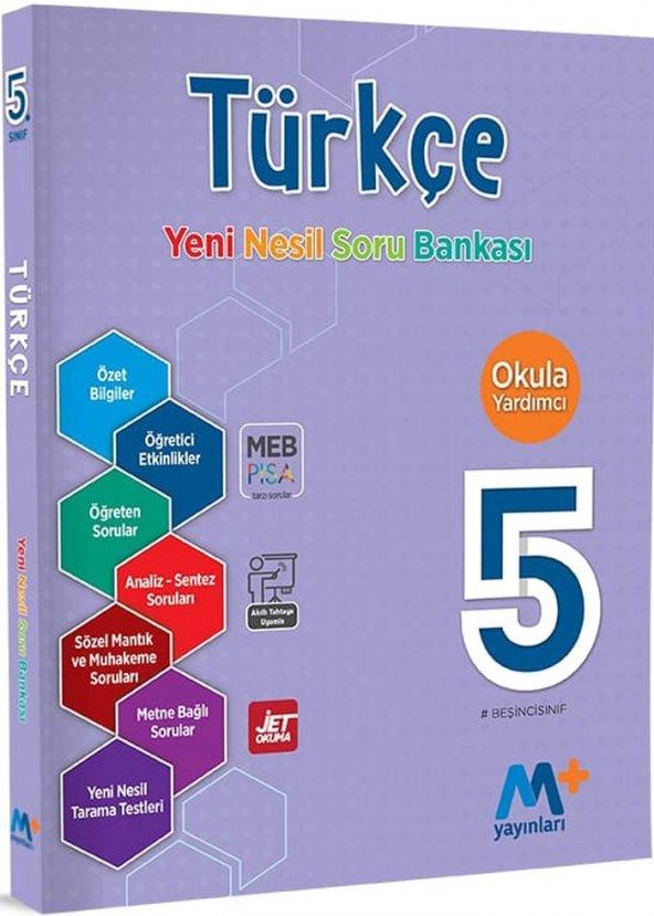 Martı Yayınları 5. Sınıf Türkçe Yeni Nesil Soru Bankası