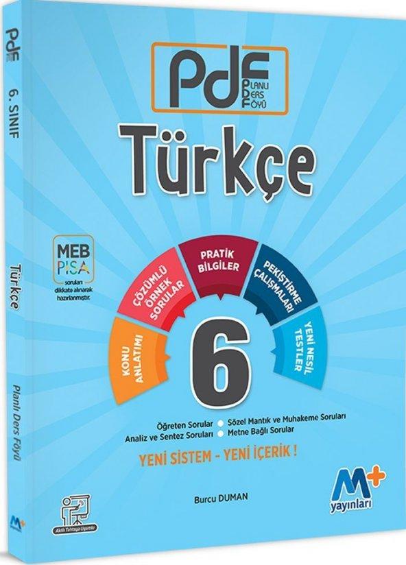 Martı Yayınları 6. Sınıf Türkçe PDF Planlı Ders Föyü
