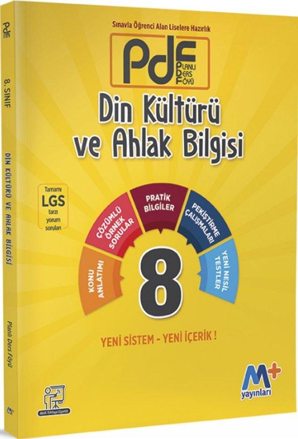 Martı Yayınları 8. Sınıf LGS Din Kültürü ve Ahlak Bilgisi PDF Planlı Ders Föyü