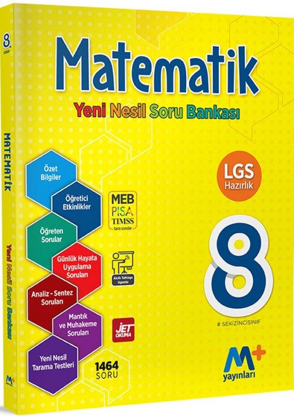 Martı Yayınları 8. Sınıf LGS Matematik Yeni Nesil Soru Bankası