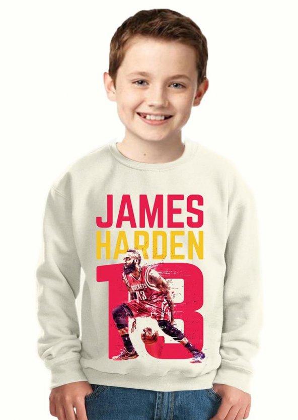 Tshirthane Basketboll James Harden Çocuk Sweatshirt