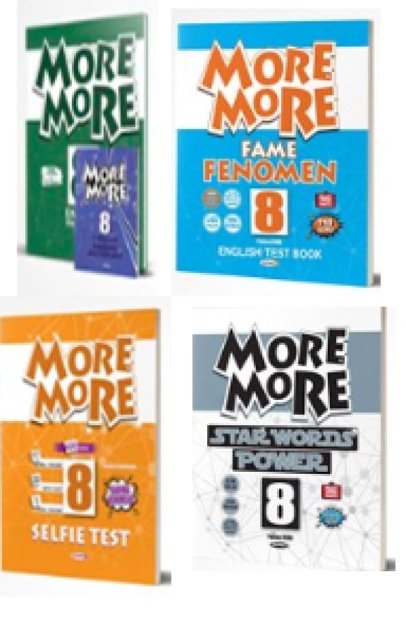 Kurmay ELT More and More 8. Sınıf 4 lü  Set
