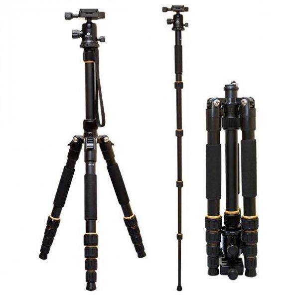 Canon EOS M6 Fotoğraf Makinesi için 160 cm Tripodu