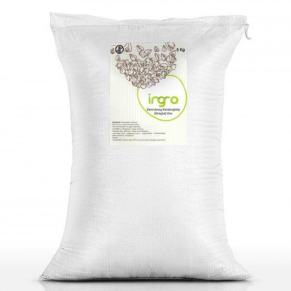İngro Glutensiz  Kavrulmuş Karabuğday (Greçka) Unu 5000 g