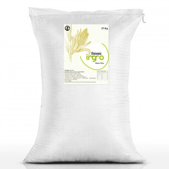 İngro Glutensiz Mısır Unu (Yerli Ürün) 25000 g