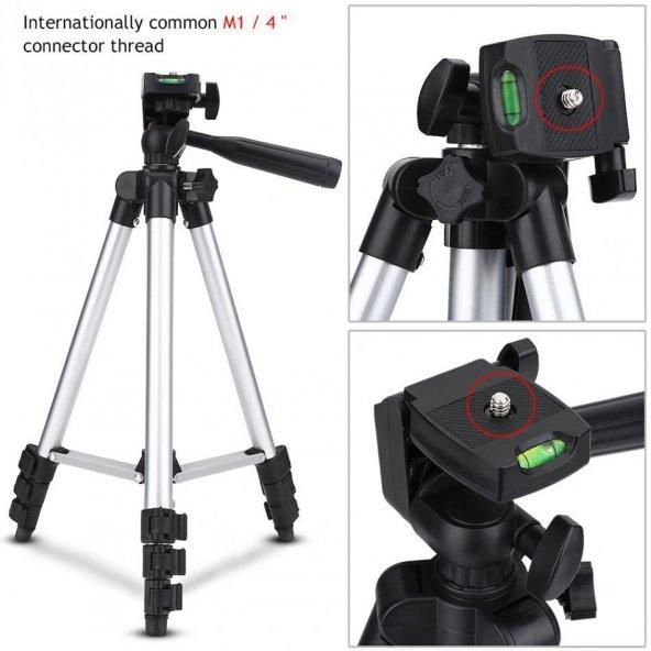 102cm Digital Kamera - Telefon Tripod Kameli Su Terazili Ayak