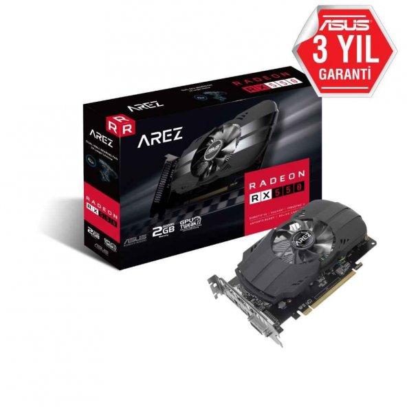 Asus Radeon AREZ-PH-RX550-2G 2GB 128Bit GDDR5 DP,HDMI,DVI 1071Mhz