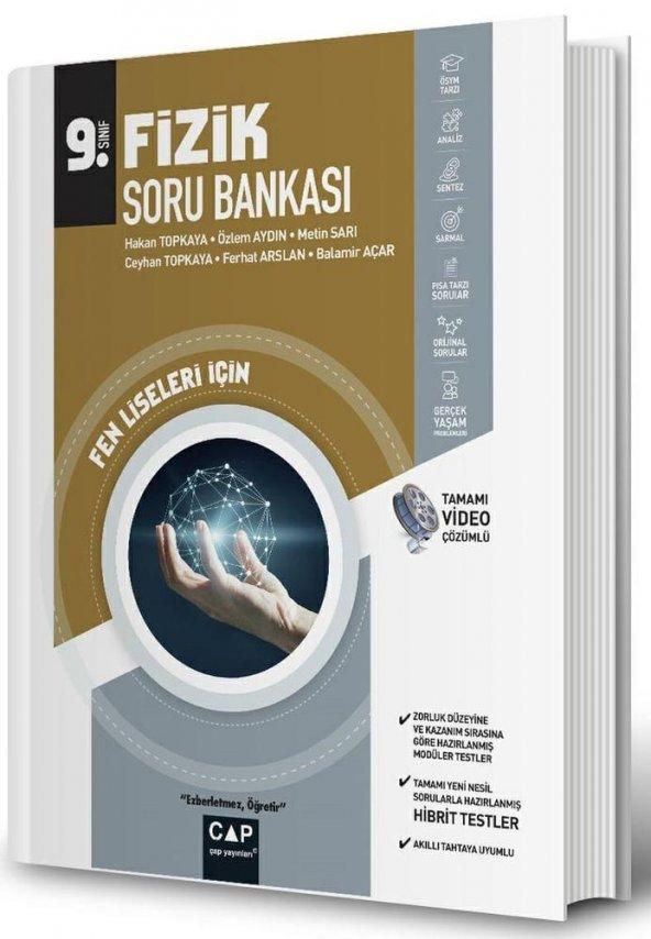 Çap Yayınları 9. Sınıf Fen Lisesi Fizik Soru Bankası