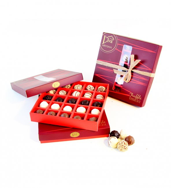 Liva Truffle Çikolata Handmade Serisi