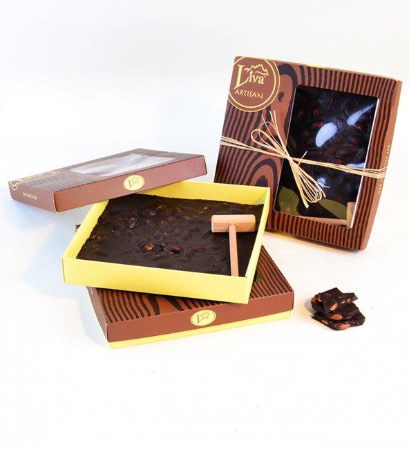 Liva Kırma Beyoğlu Çikolatası Bitter Badem