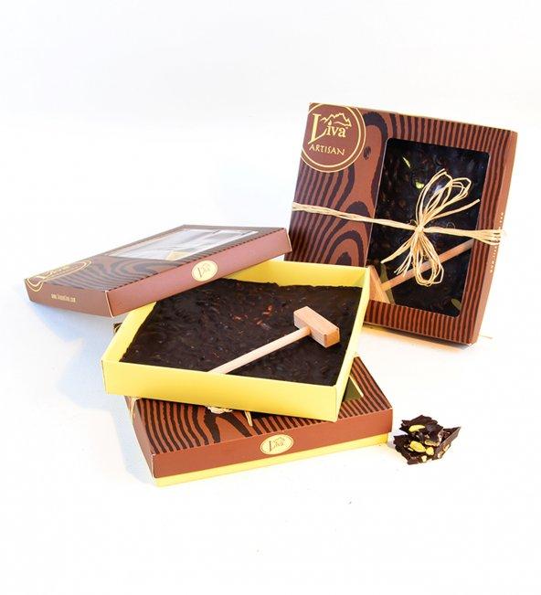 Liva Kırma Beyoğlu Çikolatası Bitter Antep Fıstığı