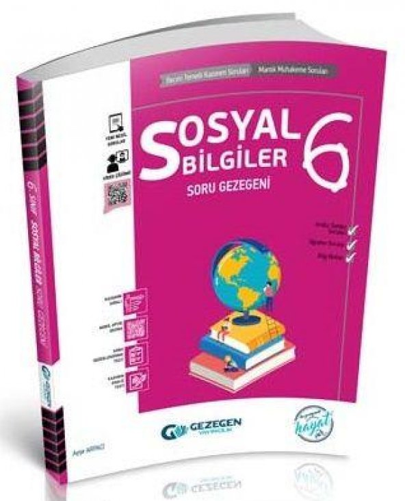 Gezegen Yayınları 6. Sınıf Sosyal Bilgiler Soru Gezegeni