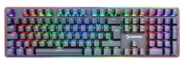 Gamepower Saber RGB Blue Switch Gaming Oyuncu Mekanik Klavye
