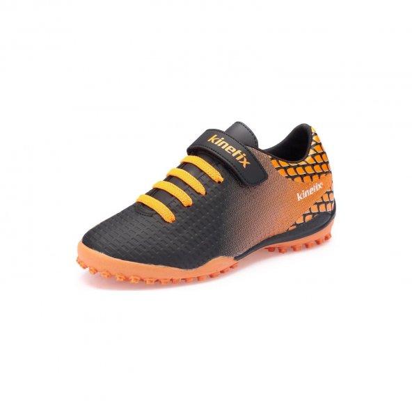 Kinetix Sedorf Turf Siyah Saks Erkek Çocuk Halı Saha Ayakkabısı